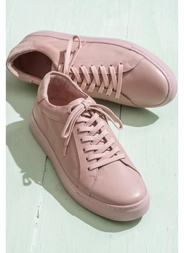Elle Sneaker Ayakkabı Pudra